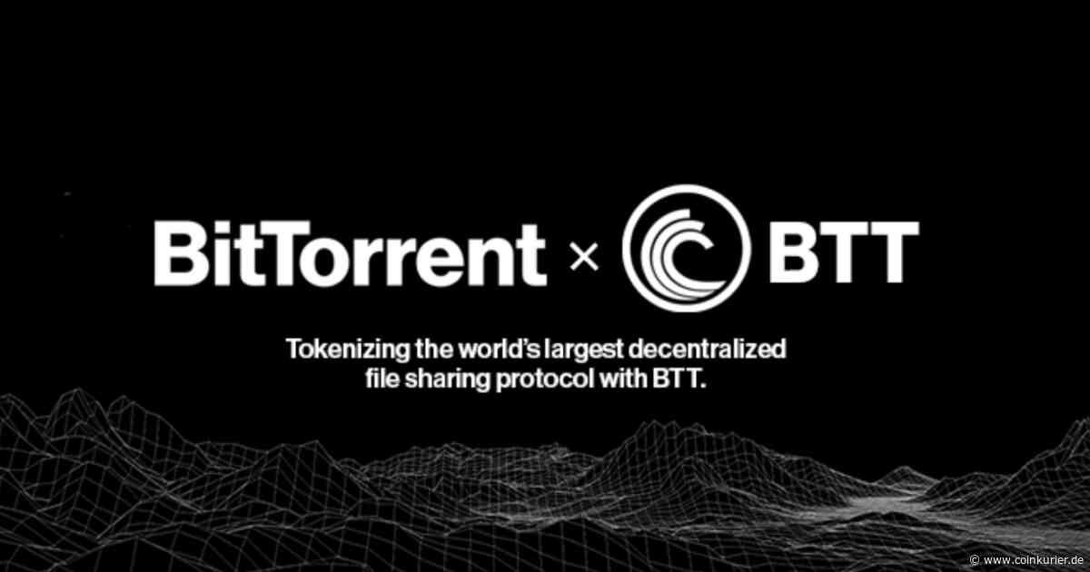 TRON (TRX)-Halter bekommen bald BitTorrent (BTT) geschenkt - Coin Kurier