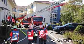 Brandspezialisten ermitteln wegen Feuer in Aldingen - Schwäbische