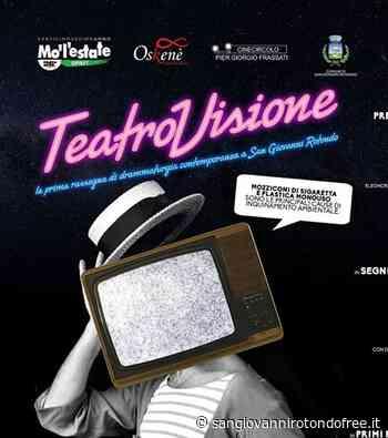 """San Giovanni R.: torna """"Teatrovisione"""" con Claudio Morici   San Giovanni Rotondo Free - San Giovanni Rotondo Free"""