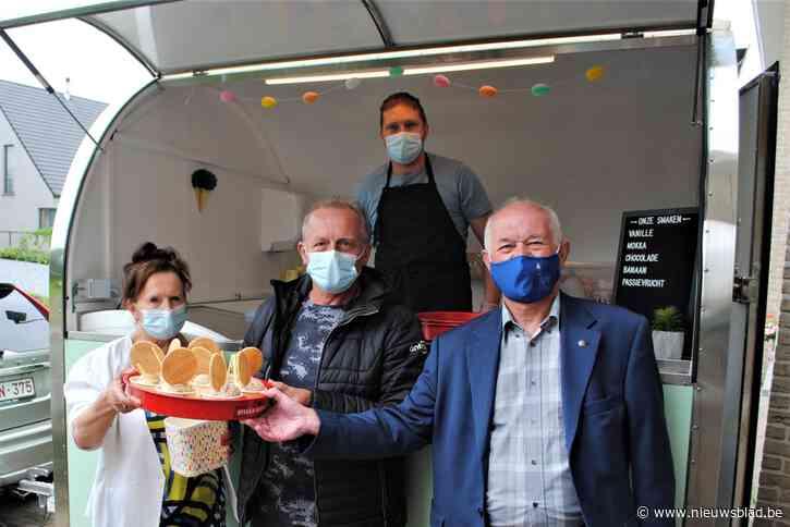 Residentie Sorgvliet getrakteerd op ijsjes