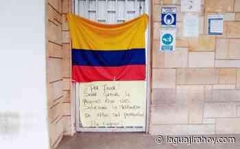 De nuevo se tomaron oficinas de Aguas de la Península en Maicao - La Guajira Hoy.com