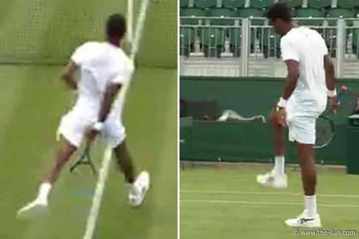 Wimbledon 2021: Watch showman Gael Monfils produce stunning trick shot through the legs which Nick Kyrgios... - The US Sun