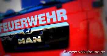 Großeinsatz der Feuerwehr Daun: Brand in einer Halle am Flugplatz Senheld - Trierischer Volksfreund
