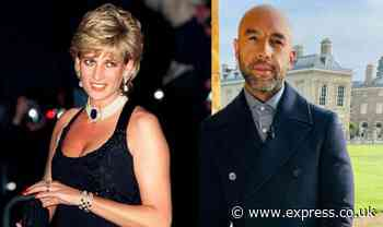 Alex Beresford: GMB weather presenter gets emotional at Princess Diana's childhood home - Daily Express