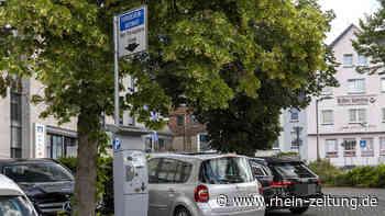 Stadt plant Einführung einer Park-App: Parken in Hachenburg wird bargeldlos - Rhein-Zeitung