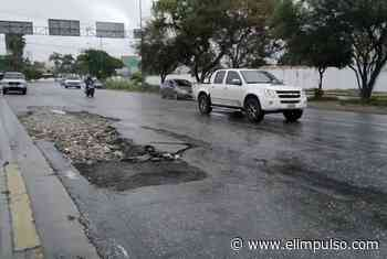 ▷ #FOTOS ¡Riesgo a la vista! Huecos en Cabudare atormentan a conductores #4Jun - El Impulso