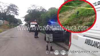 29/06/2021 Encuentran extremidad humana en El Remanso, en Tantoyuca - La Voz De Tantoyuca