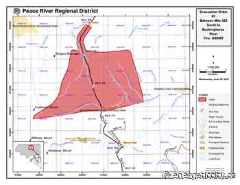 Peace River Regional District issues Evacuation Order and new Evacuation Alert - Energeticcity.ca