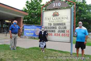 Rotary Club of Fort Erie donates tablets to Port Colborne Library - NiagaraFallsReview.ca