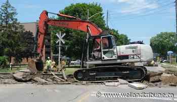 Rail crossing rehabilitation work closes Port Colborne street - WellandTribune.ca