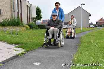 Dentergemse voetgangerscirkels leiden minder mobiele persone... (Dentergem) - Het Nieuwsblad