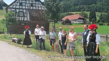 Wildberg - Meilenstein vor dem Vergessen bewahrt - Schwarzwälder Bote