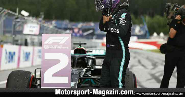 Formel 1: Lewis Hamilton nach Spielberg-Blamage im Simulator - Motorsport-Magazin.com