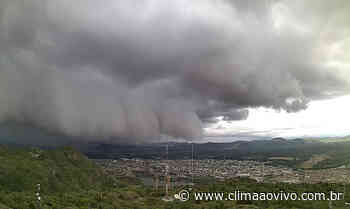 Avanço de chuva em Serra Talhada/PE, veja o vídeo - Clima ao Vivo