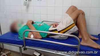 Homem com distúrbios mentais é espancado em Serra Talhada - Blog do Didi Galvão