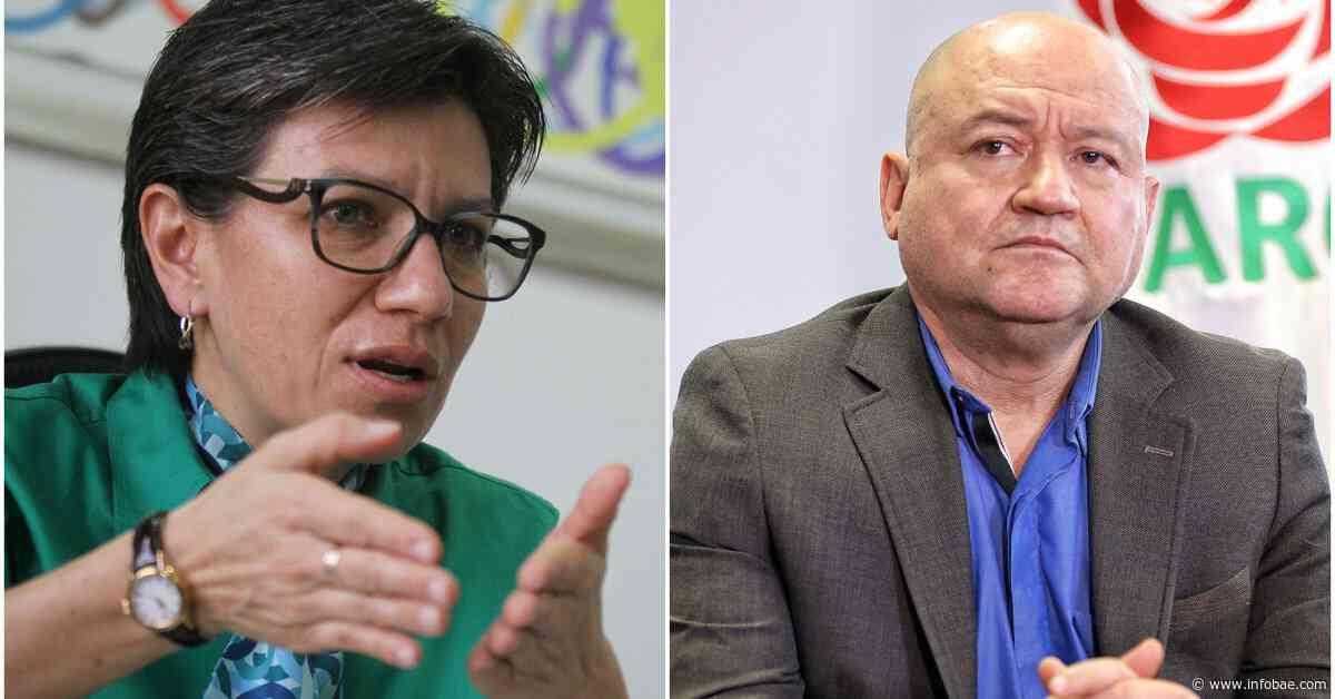 """Dura respuesta de Claudia López a críticas de Carlos Antonio Lozada: """"repare a las víctimas de las FARC"""" - infobae"""