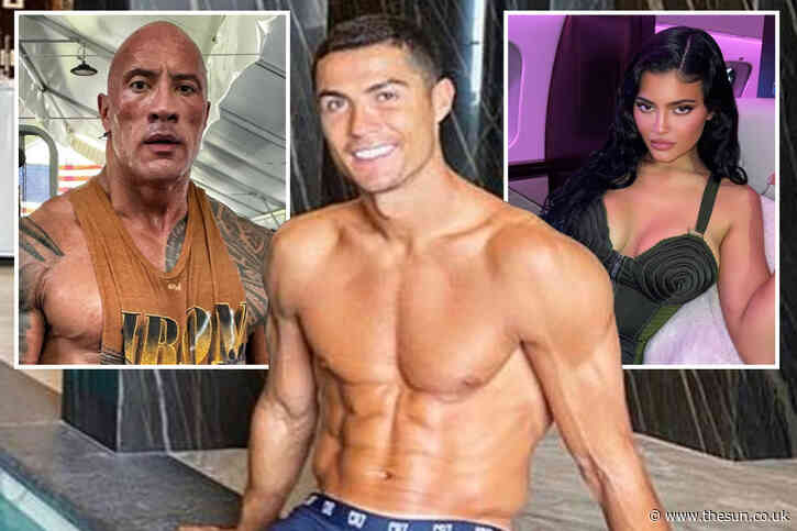 Cristiano Ronaldo tops Instagram rich list for first time and beats Dwayne 'The Rock' Johnson by earning £1.2m PER POST
