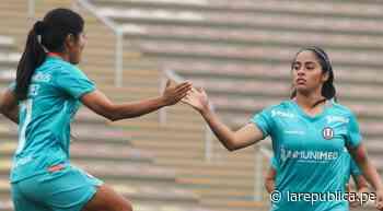 Resultado | Universitario 6-0 Sport Boys: equipo crema sella otra goleada en la Liga Femenina 2021 - LaRepública.pe