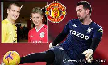 Tom Heaton returns to Manchester United on a free transfer after signing two-year deal