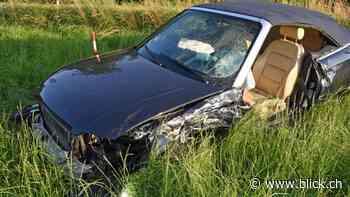 Fünf Verletzte bei Autokollision in Rain LU - BLICK