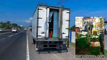 PNC encuentra carne robada en Quezaltepeque a comerciantes en San Salvador - Diario Libre
