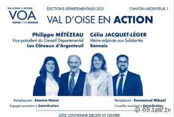 Argenteuil 1 : la mairie de Saint-Gratien annule les bulletins de Philippe Métézeau   VOnews/vià95 - VOnews95