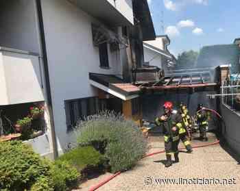 Cogliate, incendio in abitazione, a fuoco il garage interrato   FOTO - Il Notiziario - Il Notiziario