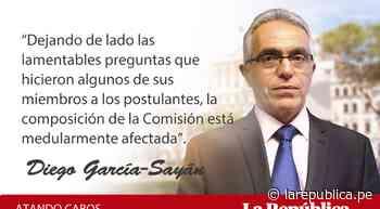TC: este Congreso, impedido de elegirlo, por Diego García-Sayán - LaRepública.pe