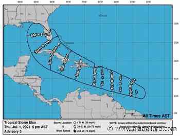 Onamet mantiene alerta por tormenta Elsa desde San Cristóbal hasta Pedernales - Diario Libre