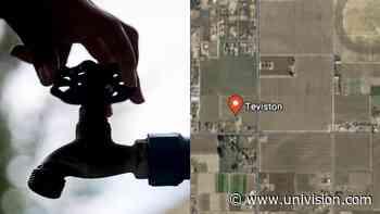 Teviston, un poblado del Valle de San Joaquín, se queda sin agua corriente - Univision