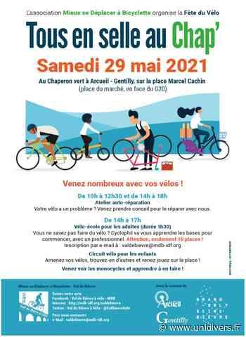 Fête du vélo à Gentilly /Arcueil au Chaperon Vert marcel cachin - Unidivers