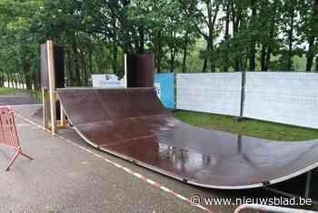 Pop-up skatepark in Wilrijk om vele skaters te spreiden