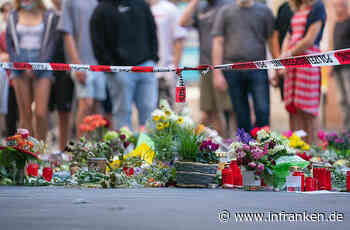 Nach Messerangriff in Würzburg: Menschenkette zum Gedenken an die Opfer