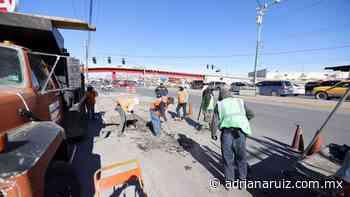 #Juarez   Por arrancar programa emergente de bacheo en la ciudad - Adriana Ruiz