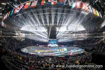 Claypaky Fixtures Score With Gala Night Hockey League Event In Sochi, Russia - Live Design