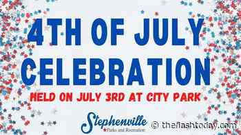 Stephenville July 4th Celebration held in City Park - The Flash Today