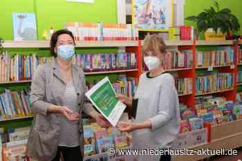 Gemeindebibliothek Kolkwitz mit neuer Mitgliedskarte - NIEDERLAUSITZ aktuell