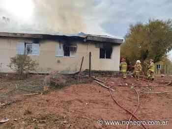 Aguada San Roque buscaba tener sus bomberos antes de la explosión en la escuela - Diario Río Negro