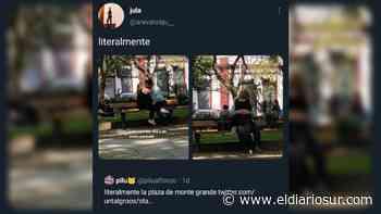 Los besos en la plaza de Monte Grande, viral en las redes - El Diario Sur