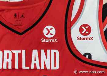 StormX Signs On As Jersey Patch Sponsor And Exclusive Blockchain Partner Of The Trail Blazers