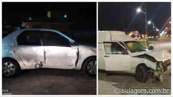 Três pessoas ficam feridas em acidente na entrada de Laguna - Sul. Agora