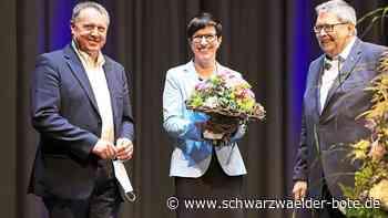 Hardterin in Metzingen tätig - Carmen Haberstroh als Oberbürgermeisterin vereidigt - Schwarzwälder Bote
