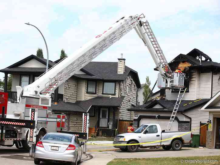 Seven dead, four taken to hospital after housefire in Chestermere - Calgary Herald