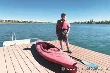 New kayak slip helps Chestermere senior keep active - Airdrie Today