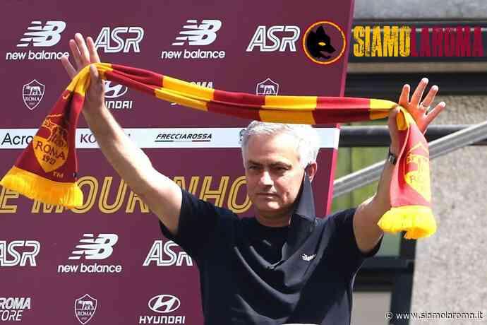 Mou Day, Mourinho è a Trigoria! Festa giallorossa. Saluti dello Special One dal balcone di Trigoria! (FOTO/VIDEO) – LIVE - Siamo la Roma