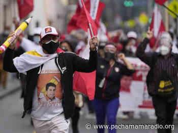 Puno: anuncian movilización en Atuncolla para exigir la proclamación del nuevo presidente del Perú - Pachamama radio 850 AM