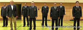 Feuerwehrkommandanten bestätigt - Zell im Wiesental - Badische Zeitung