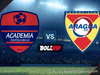 Qué canal transmite Academia Puerto Cabello vs. Aragua por la Liga Futve - Yahoo Deportes
