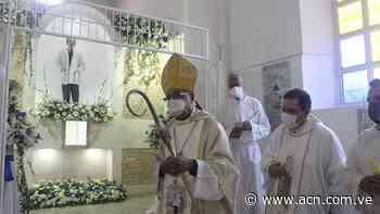 Puerto Cabello: Reliquia del beato dr. José Gregorio Hernández fue entronizada - ACN ( Agencia Carabobeña de Noticias)