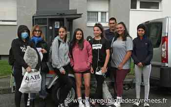 Mourenx : leur défi, pédaler d'Hendaye à Vieux-Boucau - La République des Pyrénées